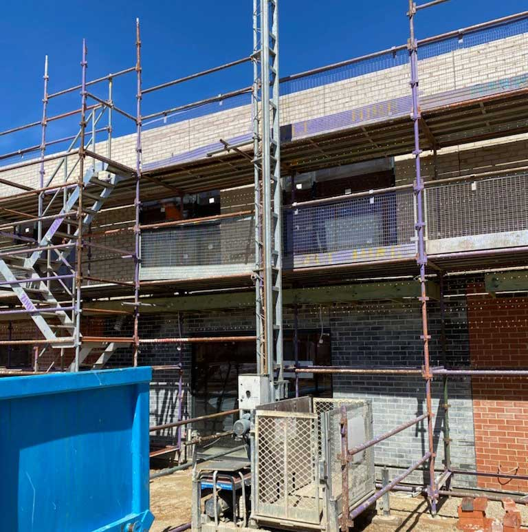 stairs hoist scaffolding hire adelaide